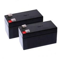 Комплект батарей 24 вольтовой автоматики для распашных ворот