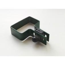 Зажим первоначальный для крепления 3D ограждений.