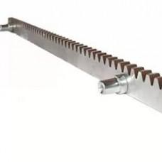Зубчатая рейка, стальная, толщиной 12 мм. L=1м