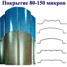 Металлоштакетник  двусторонний покрытие полимер 80-150 мкм. Макачино и Лагуна.